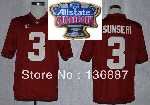 Amari Cooper White Alabama Crimson Tide Alumni Game Jersey 2014 State Sugar  Bowl ... 51fd63096