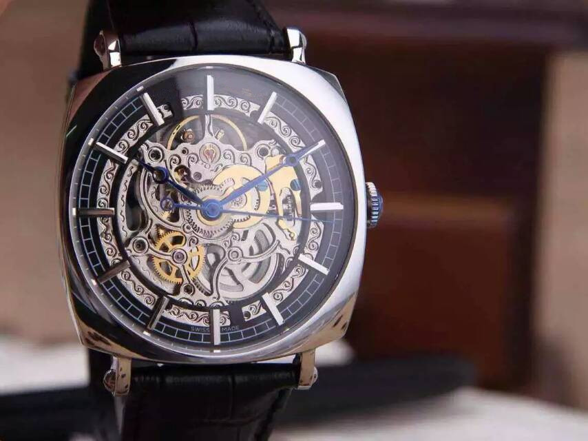 Wise style perfect show hollow automatic mechanical watches Madden, mineral fortified mirror, leather strap<br><br>Aliexpress