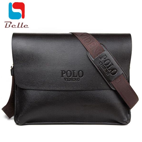 2016 кожаная сумка Портфель ноутбук сумка известная марка мужчины сумка почтальона ...