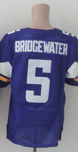 Cheap men's jersey,Elite 8 Bradford 11 Treadwell 5 Bridgewater 14 Diggs 28 Peterson 55 Barr 22 Smith Jersey,Size M-XXXL(China (Mainland))