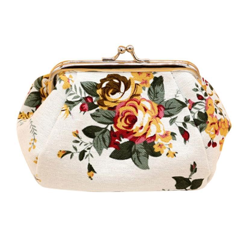 Women Lady Retro Vintage Flower Small Wallet Hasp coin purse Clutch Bag billeteras para mujer monedero pequeno mini purse mimco<br><br>Aliexpress