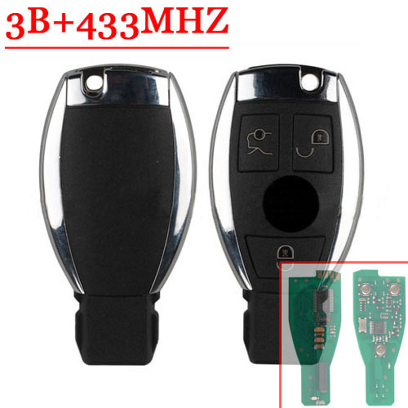 3 Buttons Remote Key For Mercedes Benz Smart Key (2005-2008) With NEC Chip 433MHZ(China (Mainland))
