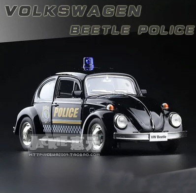 Hot Sell vintage classic cars police car model alloy toys for kids gifts(China (Mainland))