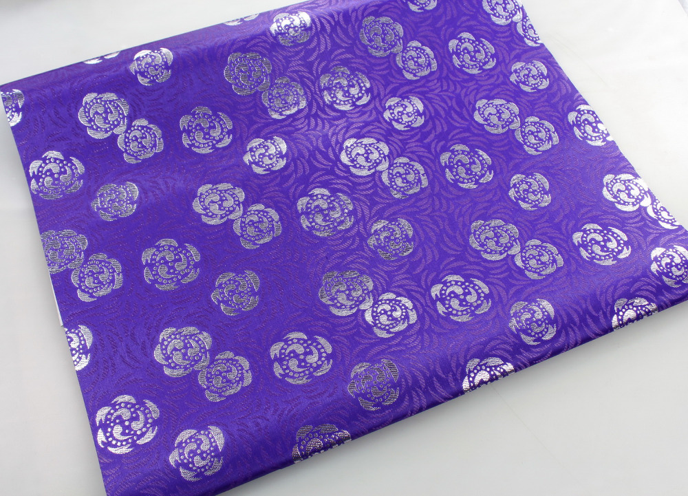 African SEGO Headtie Gele & Ipele (Head Tie & Wrapper) 2pcs in 1 set African Fashion L1400 PURPLE(China (Mainland))
