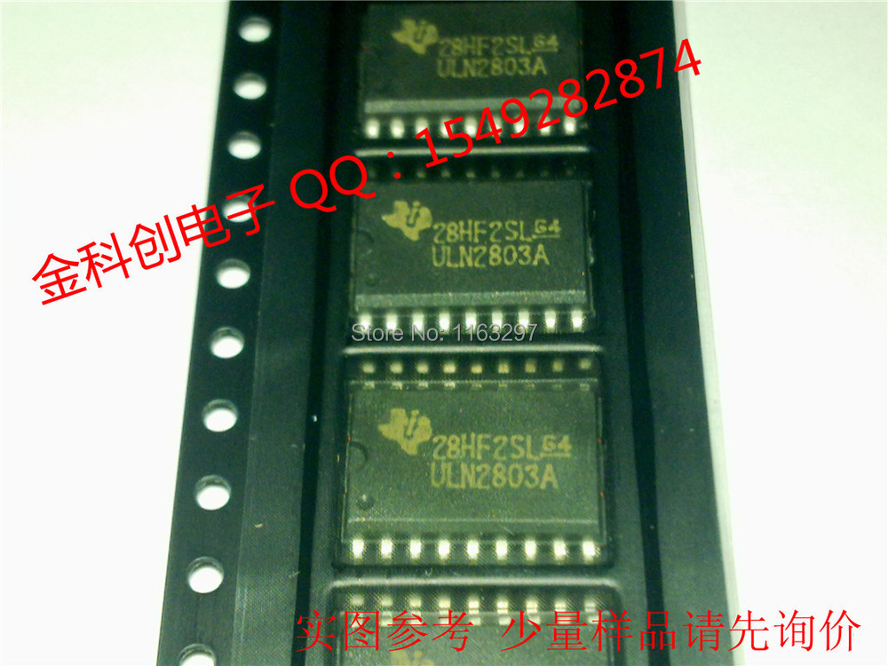 Free shipping/ULN2803ADW TI SOP-18 Darlington quality and stable domestic package selling models(China (Mainland))
