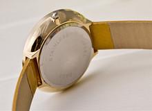 New 2015 Korea Hot Sale Fashion Women Dress Watches Luxury Transparent Diamond Watch Women Shiny Leather