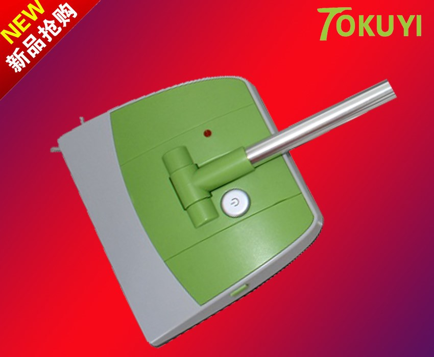 Electric tokuyi dawdler automatic sweeping machine besmirchers handheld wireless electric sweeper(China (Mainland))