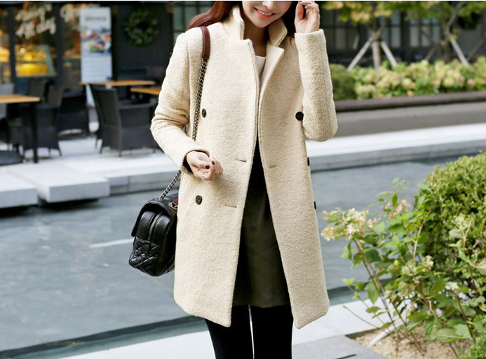 Cream Wool Coat Womens | Fashion Women's Coat 2017