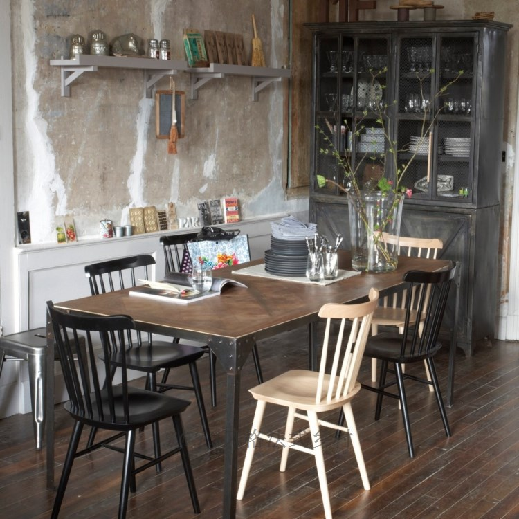 french country style loft american fashion wrought iron wood tables desks do the old retro table. Black Bedroom Furniture Sets. Home Design Ideas