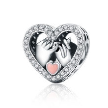 Vendita calda 100% Reale Sterling Silver Branelli di Fascino Fit Bracciale Originale FAI DA TE Creazione di Gioielli Per Le Donne del Commercio All'ingrosso di Modo Del Pendente 2020(China)