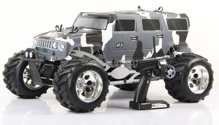 Freeshipping 1:5 rc car rovan baja four-wheel drive Bigfoot BM275 / pickup gasoline 27.5CC(China (Mainland))