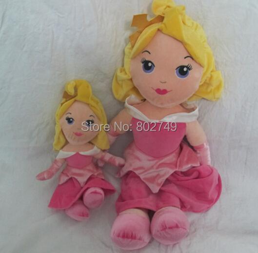 Fairy tale princess doll plush toy,Sleeping Beauty Princess Aurora doll plush toys 62cm(China (Mainland))