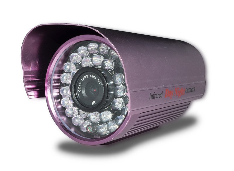 "36 LED 4mm IR 420TVL Security camera Digital Video Camera 1/3"" Sony night vision color CCD Camera(China (Mainland))"