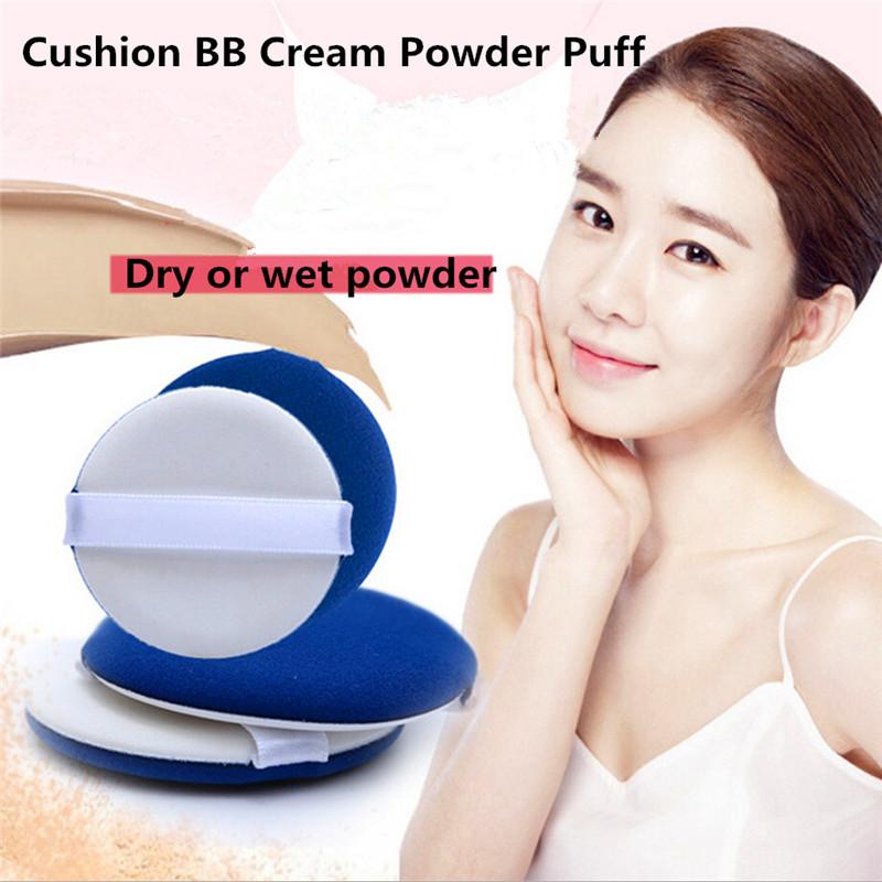 2Pcs Cushion Cream Powder Puff Makeup Blending Sponge Blending Foundation Make Up Powder Cosmetic Puffs Tools Beauty Essentials(China (Mainland))