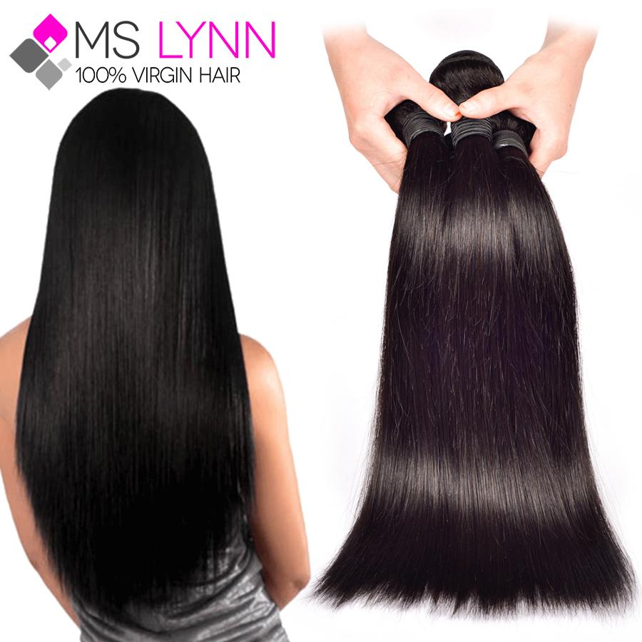 mslynn Russian Virgin Hair 4 Bundles Straight Hair Soft Russian Straight Human Hair Bundles,Cheap Russian Straight Virgin Hair(China (Mainland))
