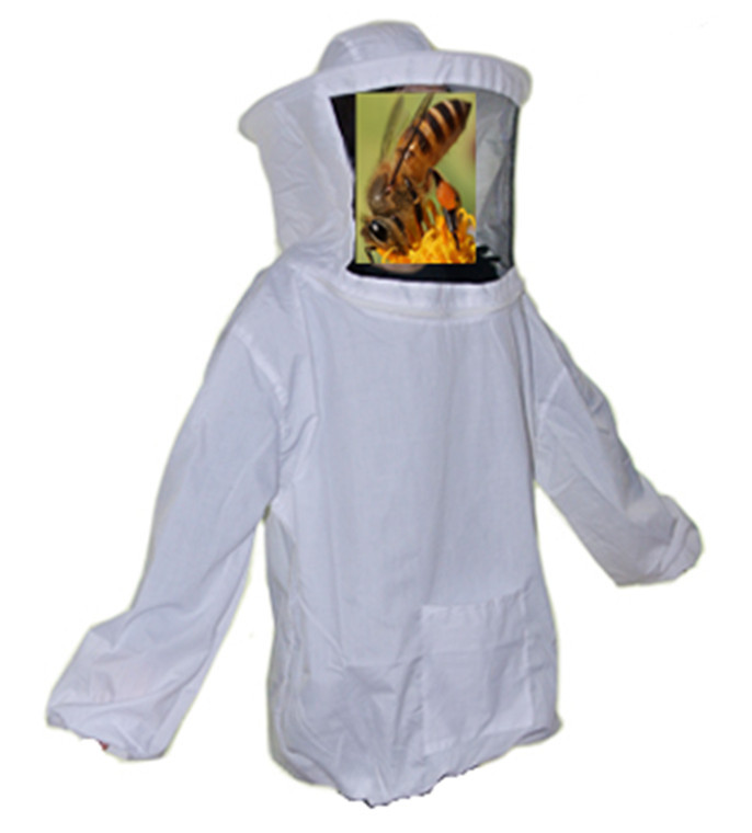 Beekeeping Suit Jacket Protective Veil Smock Mask Coat Clothes Apiary Equipment - Online Store 436847 store