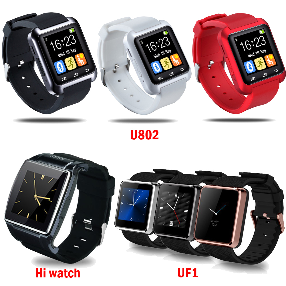Smart Watch Wrist Watches Phone Mate Bluetooth U802 Hi watch2 UF1 For Android iPhone IOS HTC