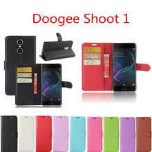 Buy Doogee Shoot 1 Case 5.5inch Wallet Style PU Leather Protective Back Cover Doogee Shoot 1 Phone Bag Cases Card Holder for $3.00 in AliExpress store