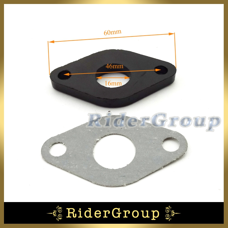 Carburetor Intake Manifold Inlet Pipe Gasket For GY6 50cc Engine Carb SUNL Baotian Znen Jmstar Kazuma Moped Chinese Scooter(China (Mainland))