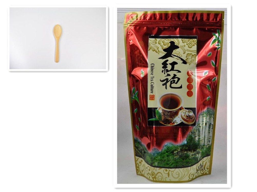 Tea Scoop+gift Premium 250g Chinese Oolong Tea, Big Red Robe,Dahongpao,Wuyi yan Cha, Wuyi Cliff Tea, Wulong(China (Mainland))