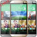 "Original HTC ONE M8 Unlocked 5.0"" 16GB Quad Core 2GB RAM 2560MHz 3 Camera 4MP Android OS 4.4 Cellphone Refurbished"