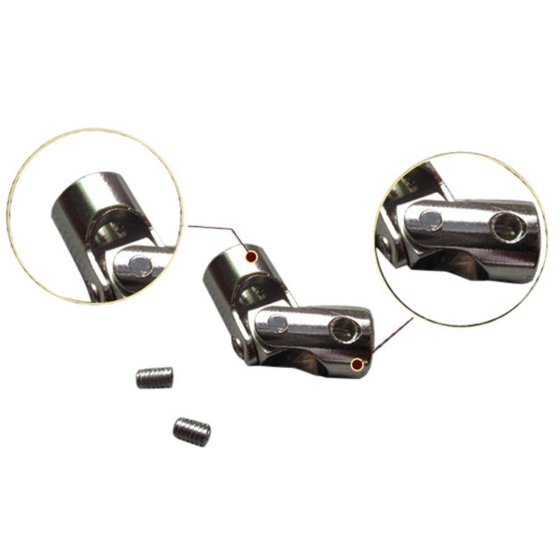 RC Car/Boat Metal Universal Joint Stainless Steel Connector 4*3/4*3.17/4*4/4*5/5*5/6*6mm Cardan Joint/Connector(China (Mainland))