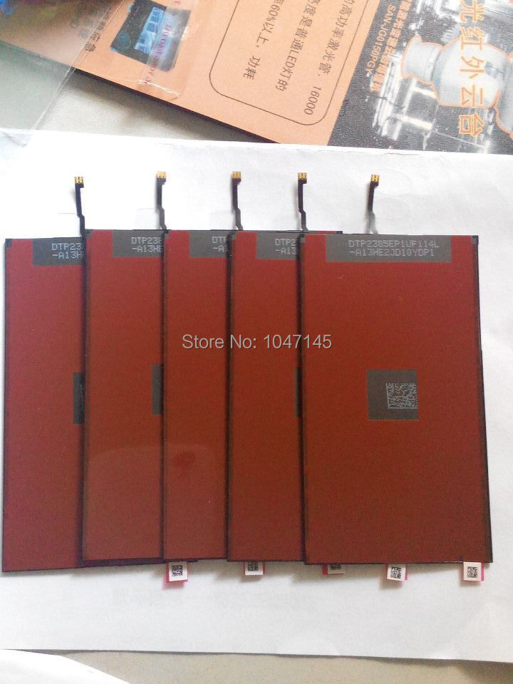 DHL Shipping 50pcs/lot  LCD Display Backlight Film For iPhone 5 5G Brand New High Quality Back light Film Repair Parts