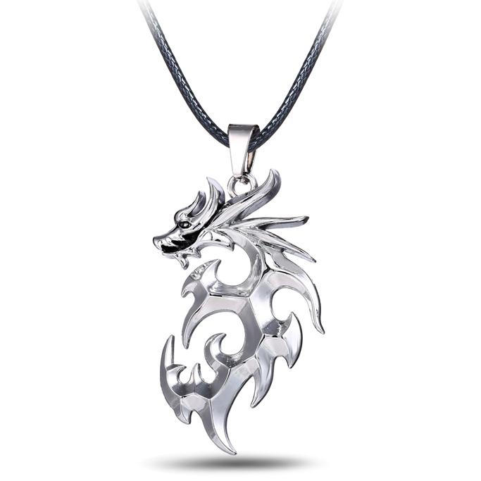 mj jewelry anime logo pendant necklace
