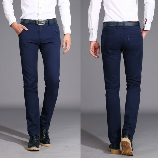 Blue Khaki Pants