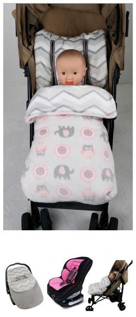 Ребенок многофункциональный спальный мешок коляска мешок одеяла осень зима теплая ...