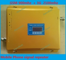 Best price!!!Newest 2G 3G LCD Display Signal booster ! GSM 900 GSM 2100 Mobile Phone Booster Amplifier 3G GSM Repeater + Antenna