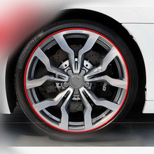 Buy 8meter Car Wheel Trim Alloy Wheel Arch Protector Rim Guard Adhesive Roll Car Styling Dodge Journey JUVC/Charger/DURANGO for $8.44 in AliExpress store