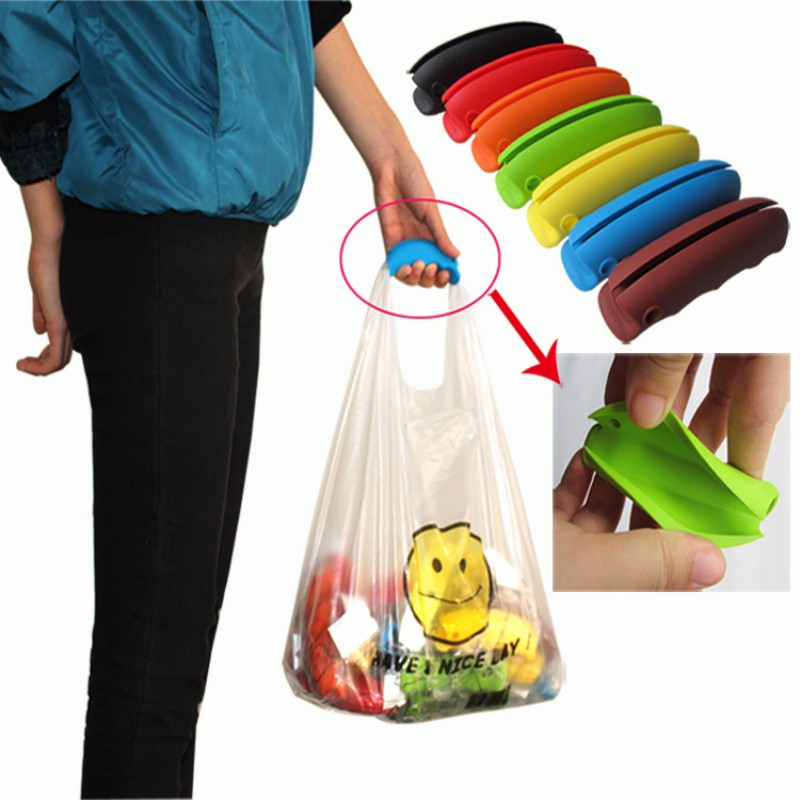 Plastic handle Shopping bag handle Shopping Grocery Bag Holder Handle Carrier Labor Gadgets Tools Carry Handler(China (Mainland))