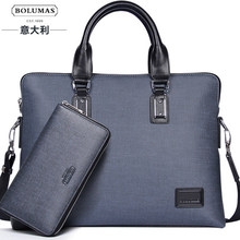 2016 new composite bag business man bag briefcase cross-section shoulder bag handbags computer  Laptop  bag freeshipping(China (Mainland))