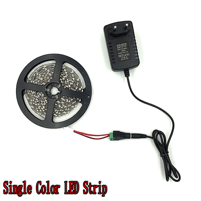 led strip black pcb Picture - More Detailed Picture about RGB LED Strip 5M 300Led 3528 SMD 24Key ...