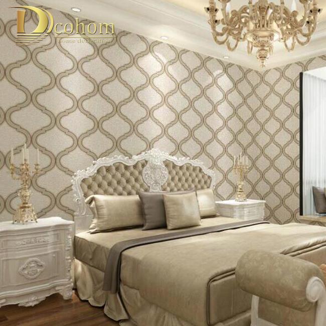 Buy High Quality Vinyl Waterproof Design For Bedroom Damask Wallpaper Vintage