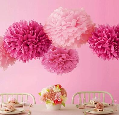 15pcs lot 20cm wedding party marriage room decorative paper flowers