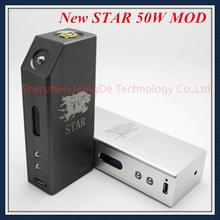 2015 последним в исходном электронной сигареты переменная мощность hana mod звезда 50 Вт мод звезда 18650 механическая коробка мод vape в . с . днк 50 Вт / ZNA 50 Вт / VAMO V6