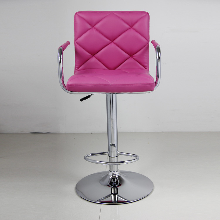 European Leather Computer Chair Lift Bar Stools Leather