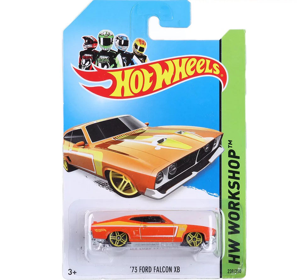 Free Shipping 2013 Hot Wheels 73 FORD FALCON XB Cars Metal Alloy Model For Colecter Wholesale Metal Cars For Car Lovers(China (Mainland))