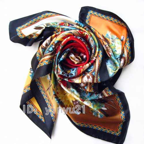 Wholesale manufacturers Suzhou silk silk super 90 big towel female simulation silk towel Scarf Shawl(China (Mainland))