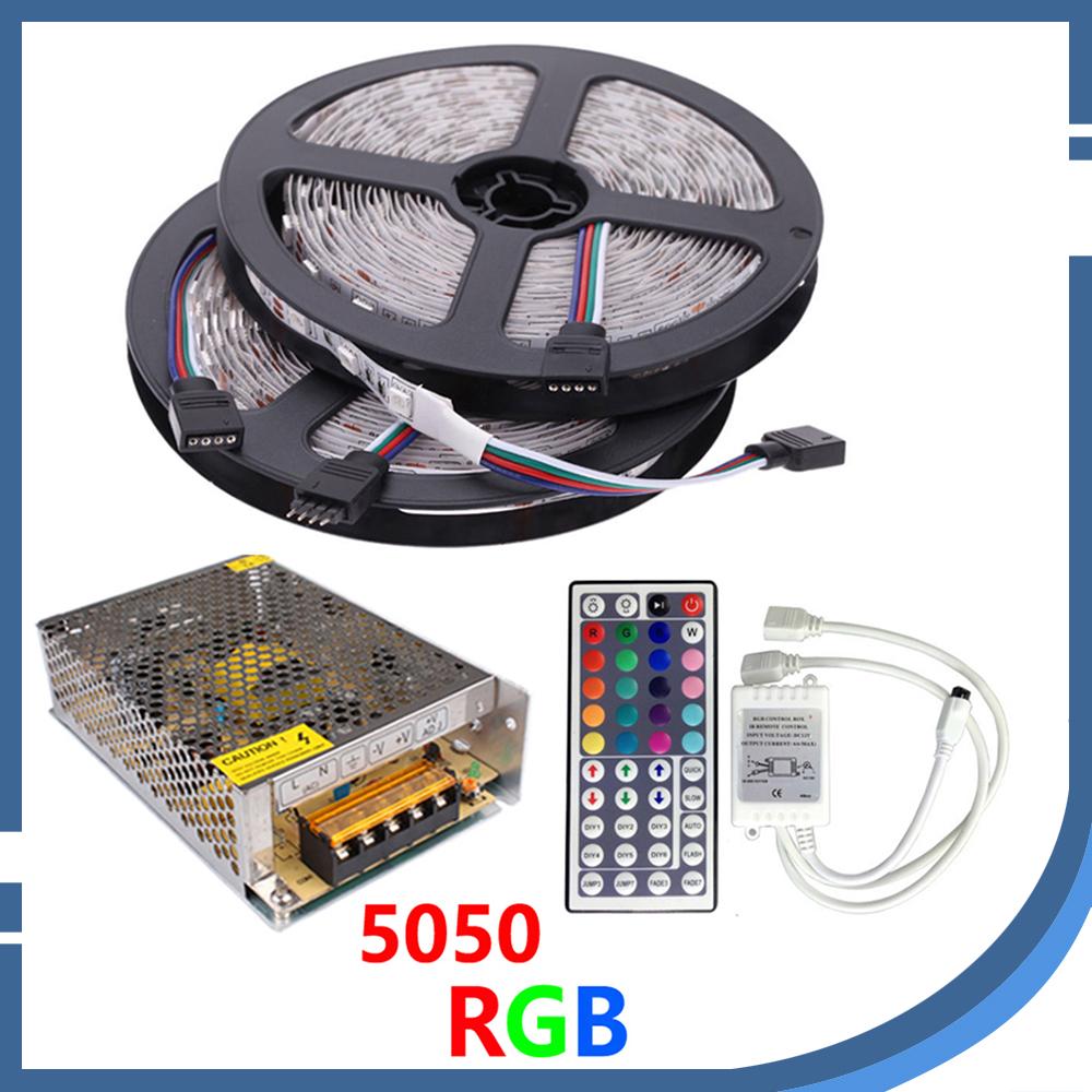 Indoor Outdoor Led Light Strip: 10M 5050 LED Strip Light DC12V 600led Flexible Strip 5730
