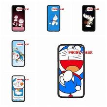 case mobile Cute Japan Cartoon Animals Doraemon For apple iPhone SE 5 5s 6s plus Hard Cases
