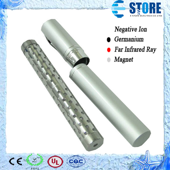 50pcs Energy Water Stick with Aluminium Pen Tube Package Health Alkaline Ion Water Filter Portable DHL Free(China (Mainland))