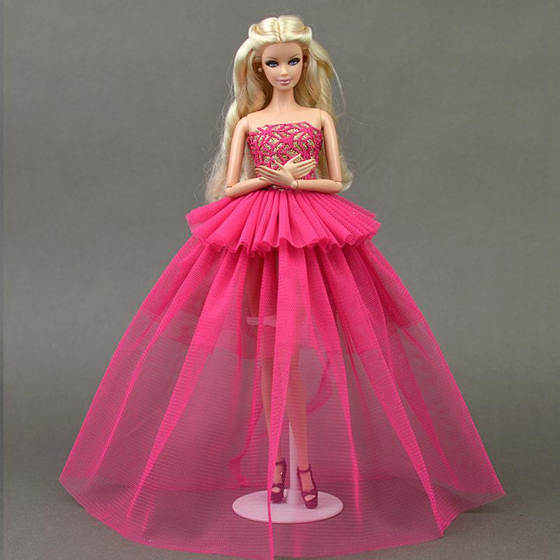 Barbie avondjurk promotie winkel voor promoties barbie for Poppenhuis voor barbie