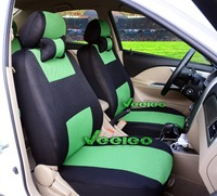 Car Seat Cover For All vehicles 2 Front Seats only 2 one-piece Style Car Covers+Multi-Color Breathable Material+Free Shipping