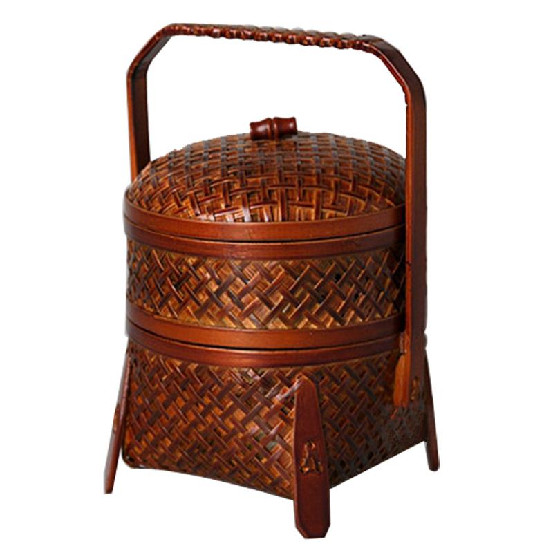 Old Handmade Baskets : Aliexpress buy bamboo vintage picnic basket handmade
