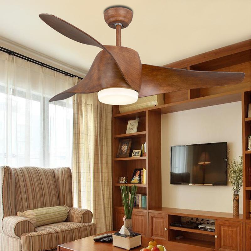 Compra ventiladores de techo de madera online al por mayor de china mayoristas de ventiladores - Ventiladores de techo de madera ...