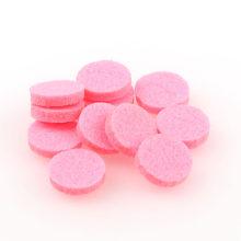 10 sztuk kolorowe aromaterapia uszczelka do perfumy medalion (18 MM) OLEJEK ETERYCZNY dyfuzor przystawki przycisk biżuteryjny(China)