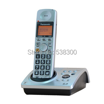KX-TG1031s DECT 6.0 Cordless Phone Digital Wireless Telephone Recording Answering Stand-alone Home Phone, 1 handset(China (Mainland))